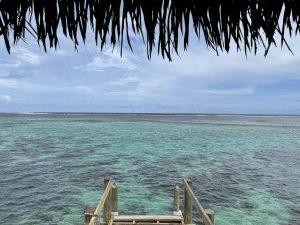 フィジーの海